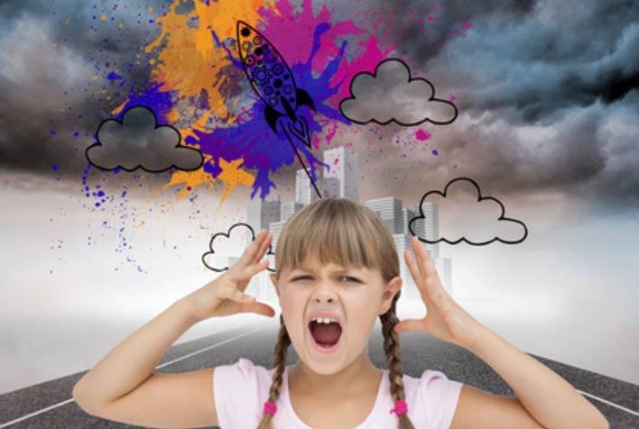 پرخاشگری در کودکان و عوامل محیطی و وراثتی