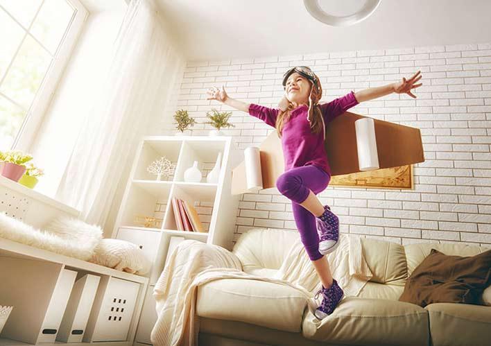 به کودکان اجازه دهید انرژی خود را تخلیه کنند