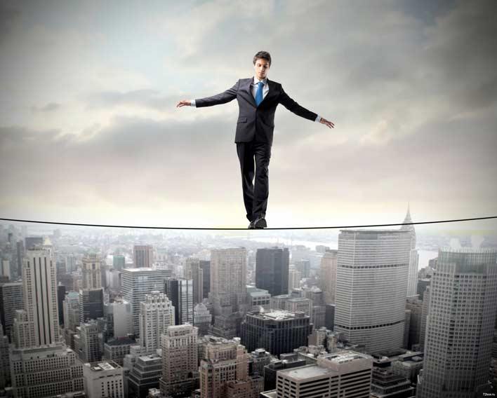 بین خطرات و ترس هایتان مرز بگذارید