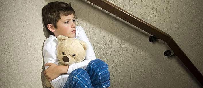 عوامل ایجاد ترس در کودکان