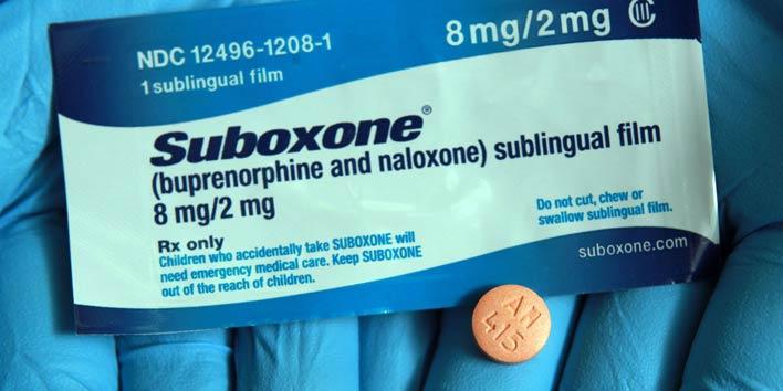 سابوکسون که ترکیبی از بوپرنورفین و نالوکسان است (برای درمان اعتیاد و جلوگیری از سوء مصرف بوپرنورفین استفاده میشود)
