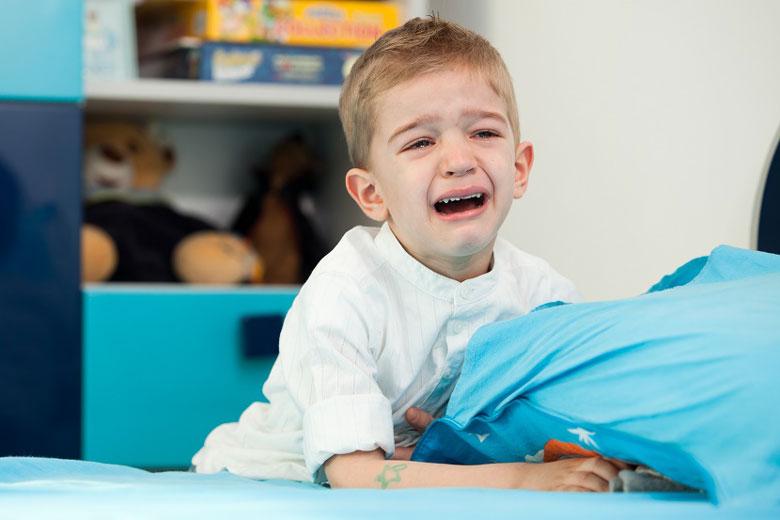 دلایل شب ادراری در کودکان