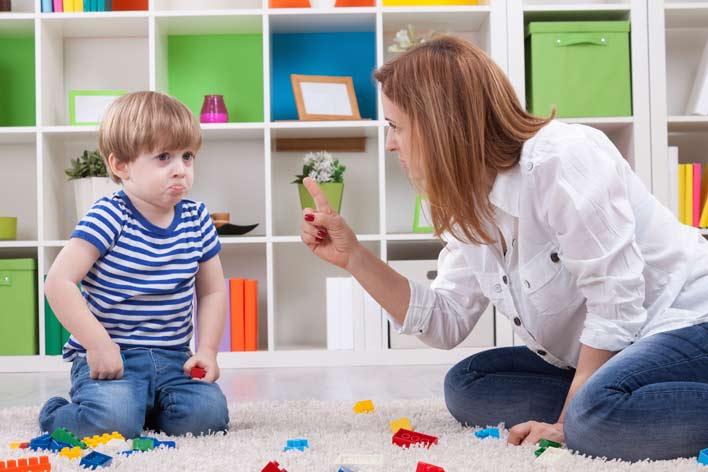 نحوه برخورد با مشکلات فرزندان
