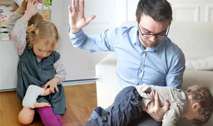 رفتارهای نامناسب والدین از مهمترین دلایل پرخاشگری در کودکان است