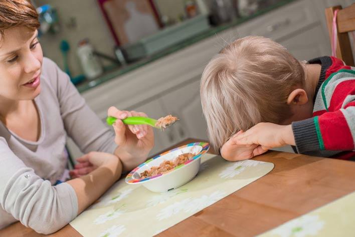 دلایل بی اشتهایی در کودکان