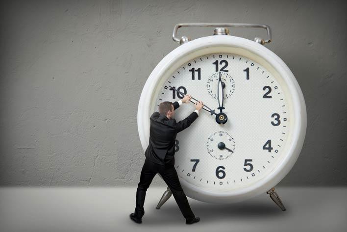 مدیریت زمان داشته باشید