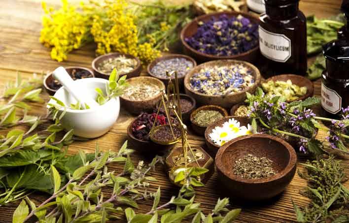 مصرف داروهای گیاهی