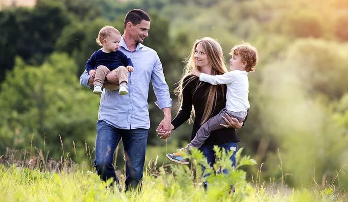 زمان بیشتری را در کنار خانواده بگذرانید