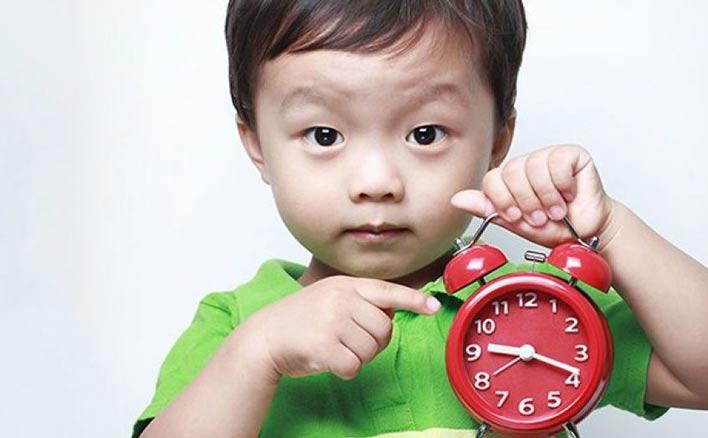 زمان بندی و نظم را به او آموزش دهید
