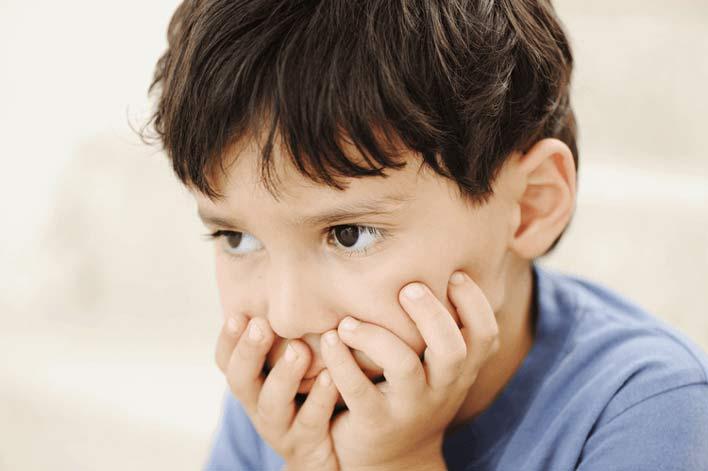 نشانه های اصلی اضطراب کودکان
