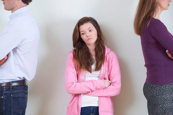 مشکلات بچه های طلاق در بزرگسالی