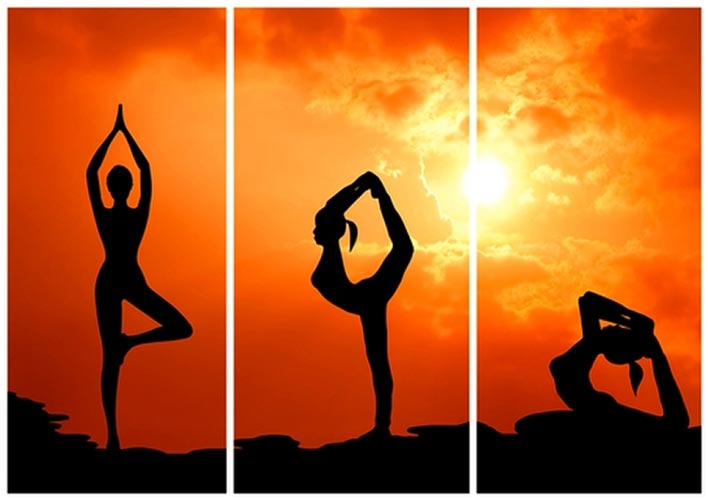انواع ورزش یوگا