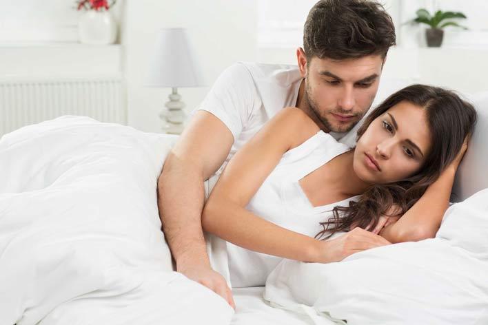 اضطراب و نگرانی در شب زفاف