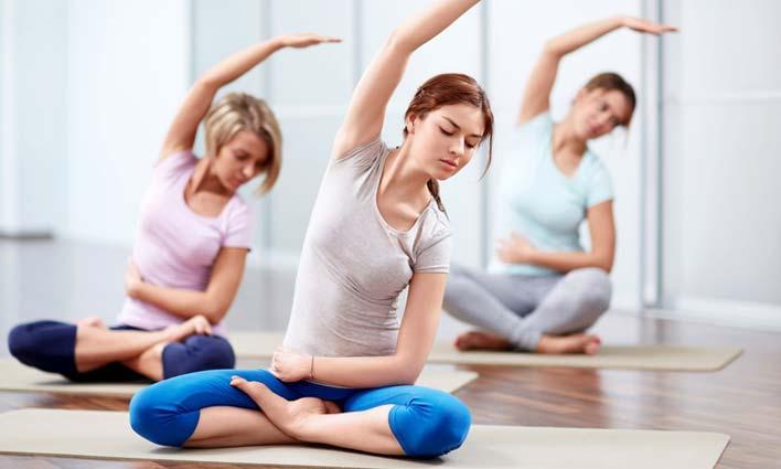 انواع حرکات و تمرینات ورزش یوگا